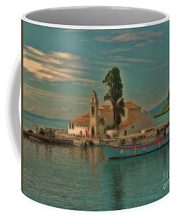 Pontikonisi Corfu Coffee Mug
