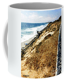 Ponto Beach, Carlsbad Coffee Mug