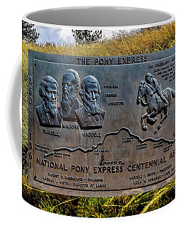 Pony Express Route Coffee Mug