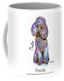 Poodle Pop Art Coffee Mug