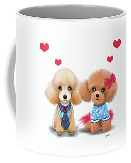 Poodles Are Love Coffee Mug