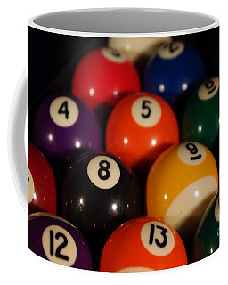 Pool Balls Coffee Mug