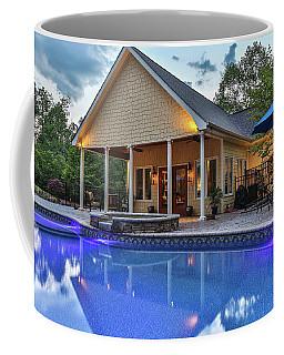 Pool House Coffee Mug