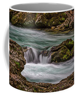 Coffee Mug featuring the photograph Pool In The River by Stuart Litoff