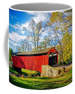 Poole Forge Covered Bridge Coffee Mug