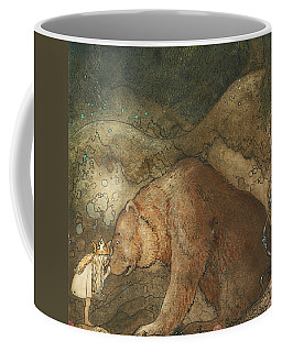 Coffee Mug featuring the painting Poor Little Basse by John Bauer