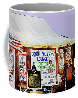 Poor Monkey's Juke Joint Coffee Mug