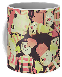 Coffee Mug featuring the photograph Pop Art Clown Circus by Jorgo Photography - Wall Art Gallery