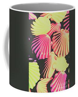 Pop Art From Fluorescent Beach Coffee Mug