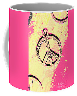 Pop Art In Peace Coffee Mug