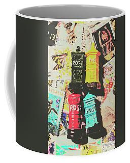Pop Art In Post Coffee Mug