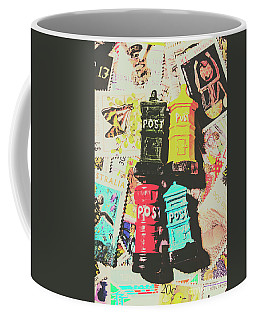 Pop Art In Post Coffee Mug