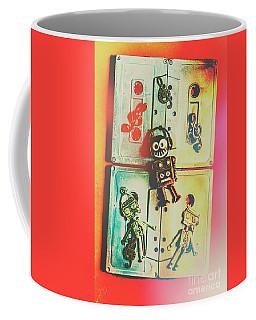 Pop Art Music Robot Coffee Mug