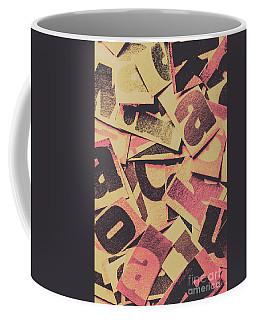 Pop Art Press Coffee Mug