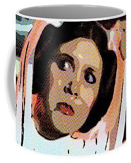 Pop Art Princess Leia Organa Coffee Mug