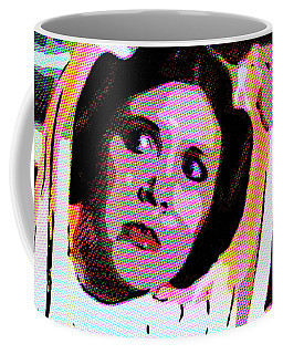 Pop Art Princess Leia Organa Coffee Mug