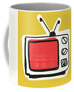 Pop Art Tv- Art By Linda Woods Coffee Mug