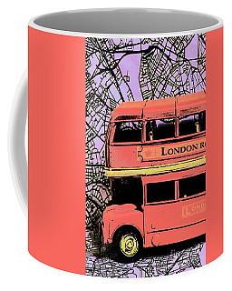 Pop Art Uk Coffee Mug
