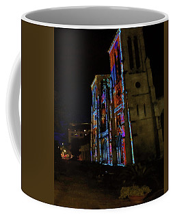Coffee Mug featuring the photograph Pop Cathedral  by Robert McCubbin