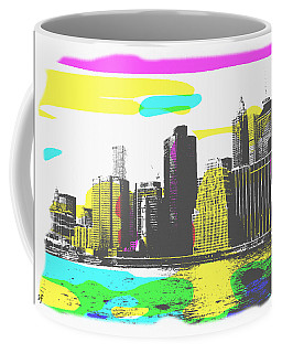 Pop City Skyline Coffee Mug
