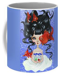 Pop-eyed Goldfish Coffee Mug