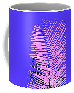 Coffee Mug featuring the photograph Pop Palm by The Art of Alice Terrill