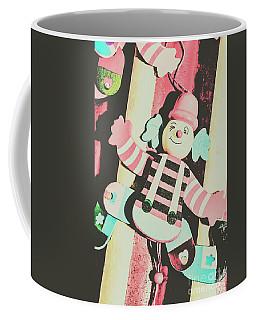 Pop Up Clown Art Coffee Mug