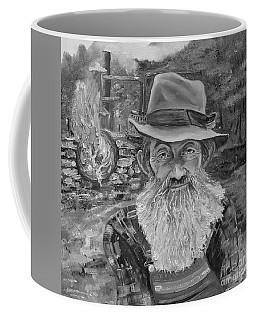 Popcorn Sutton - Black And White - Rocket Fuel Coffee Mug