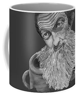 Popcorn Sutton Black And White Transparent - T-shirts Coffee Mug