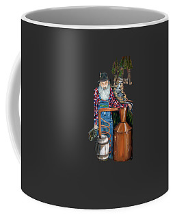 Popcorn Sutton Moonshiner -t-shirt Transparrent Coffee Mug