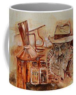 Popcorn Sutton - Waiting On Shine Coffee Mug