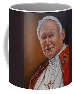 Pope John Paul Coffee Mug