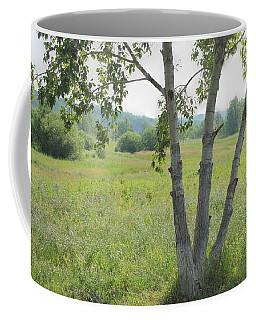 Poplar Tree In Meadow Coffee Mug