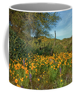 Poppies Abound Coffee Mug