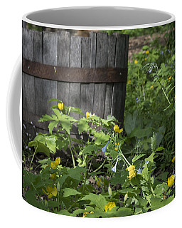 Poppies And Bluebells Coffee Mug