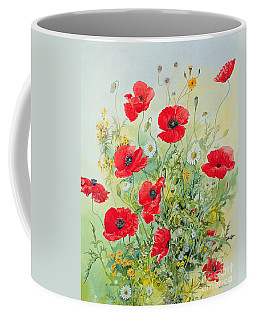 Poppies And Mayweed Coffee Mug