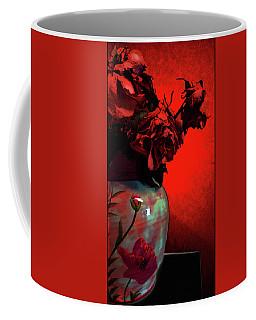 Poppies And Roses Coffee Mug
