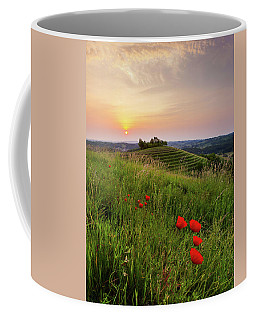 Poppies Burns Coffee Mug
