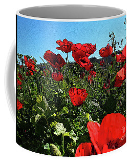 Poppies. Coffee Mug by Don Pedro De Gracia