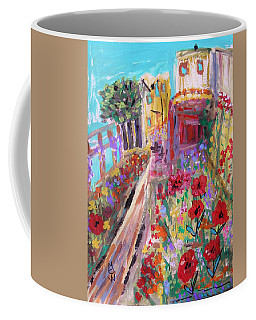 Poppies In Alcatraz Garden Coffee Mug