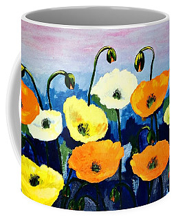 Poppies In Colour Coffee Mug