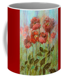 Poppies In Pastel Watercolour Coffee Mug
