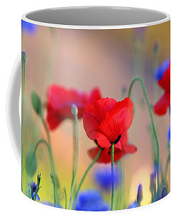 Poppies In Spring  Coffee Mug