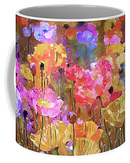 Poppies In The Meadow Coffee Mug
