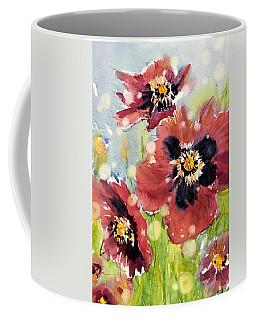 Poppies Coffee Mug by Judith Levins