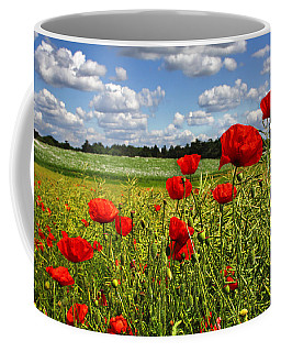 Poppies Coffee Mug by Ken Brannen