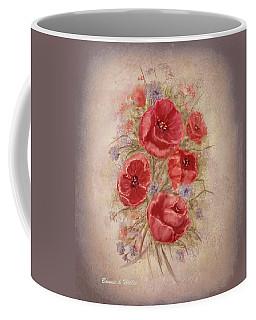 Poppies Of Memory Lane Coffee Mug
