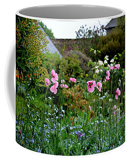 Poppies Of The Great Dixter Coffee Mug by Tanya Searcy