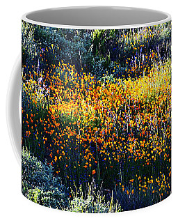 Poppies On A Hillside Coffee Mug by Glenn McCarthy Art and Photography