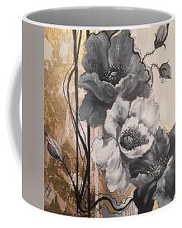Poppies On Gold Coffee Mug